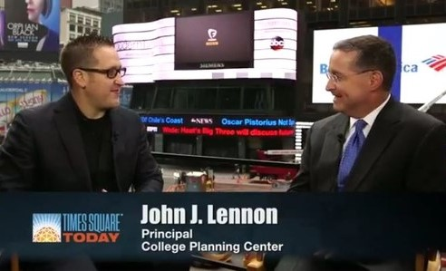 Time Square Today with John Lennon